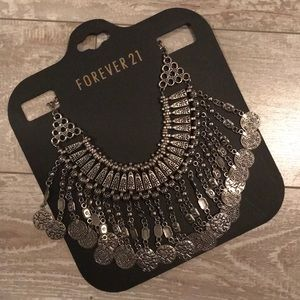 Forever 21 Bohemian Gypsy Inspired Necklace
